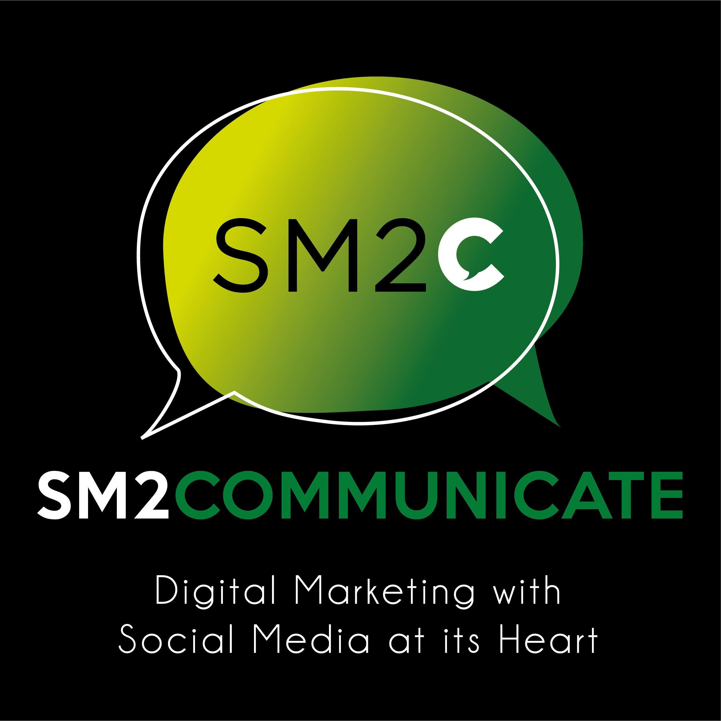 SM2C V2 Logo Black BG
